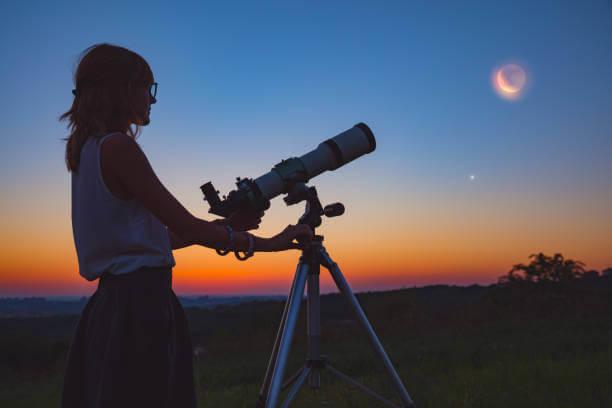 天体観測に利用